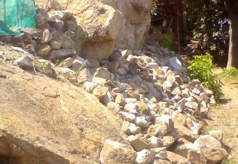 Peligro por rocas en Salina Cruz, Oaxaca | El Imparcial de Oaxaca