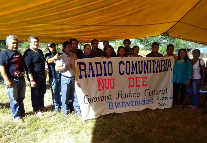 Llega caravana de radios a Huajuapan de León, Oaxaca   El Imparcial de Oaxaca