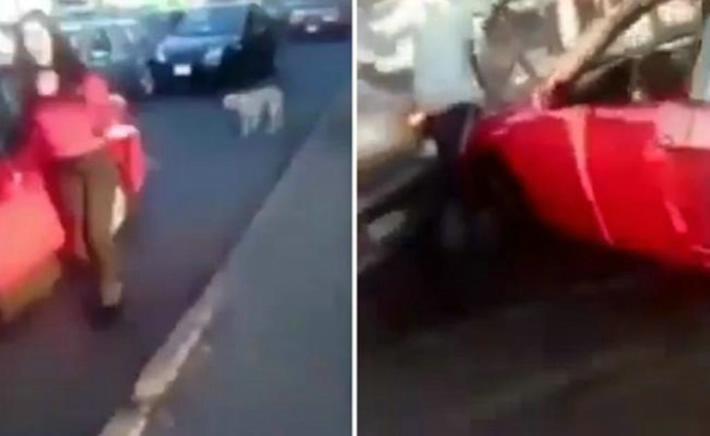 Mujer choca su auto contra otro en Michoacán y su intento por escapar se vuelve viral | El Imparcial de Oaxaca
