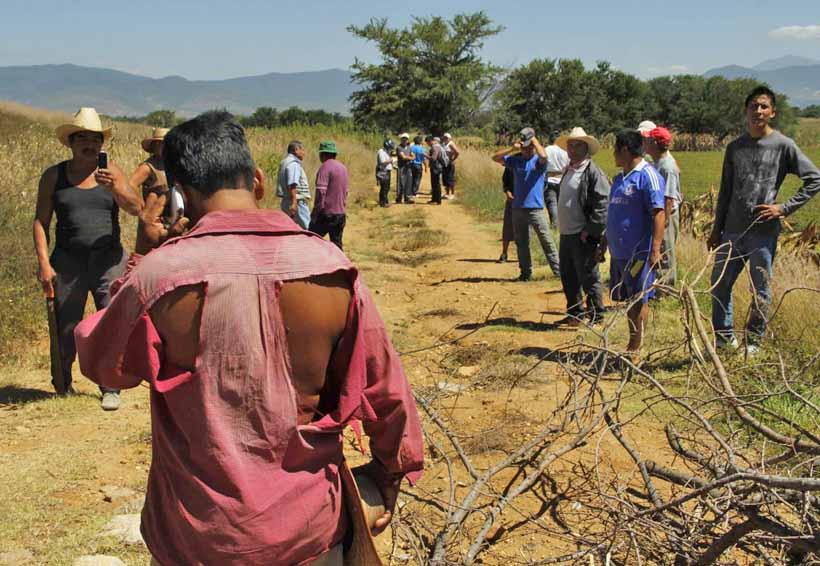 Tres muertos y un herido por conflicto de tierras en Oaxaca