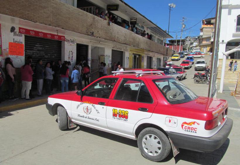Protestan taxistas de Huautla  contra una determinación vial | El Imparcial de Oaxaca
