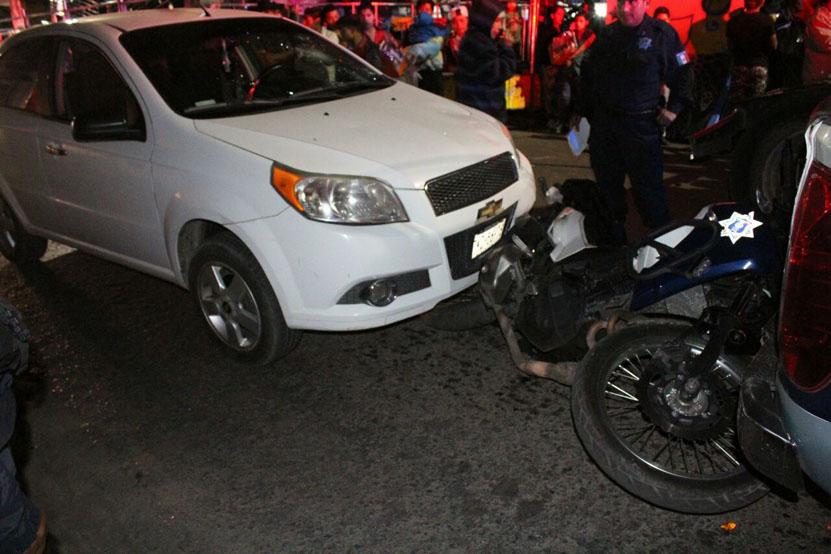 Arrolla a policías en el centro de la ciudad de Oaxaca   El Imparcial de Oaxaca