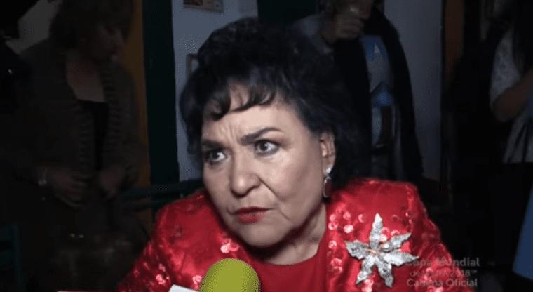 Carmen Salinas destroza al nieto de María Félix | El Imparcial de Oaxaca