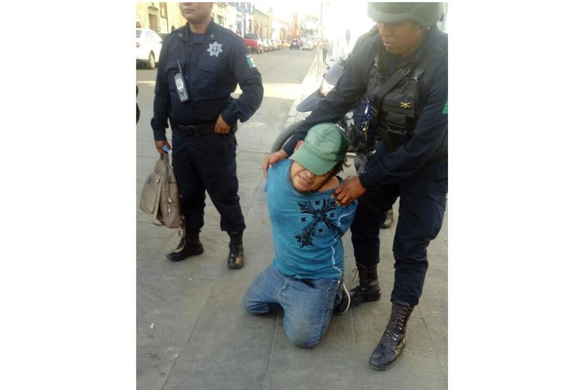 Capturan a hombre acusado de robo en el centro de Oaxaca; lo querían linchar | El Imparcial de Oaxaca