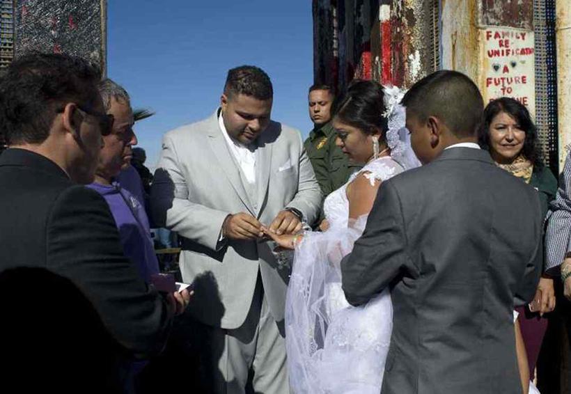 Video: Novio que se casó en frontera entre México y EU es narcotraficante   El Imparcial de Oaxaca