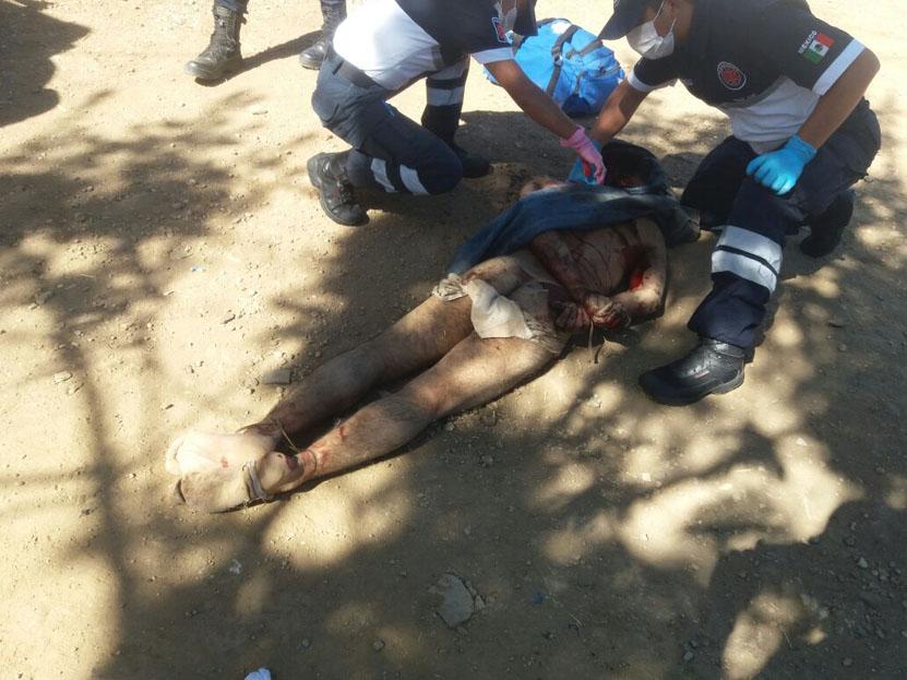 Video: Dan brutal castigo a presunto ladrón en Atzompa | El Imparcial de Oaxaca
