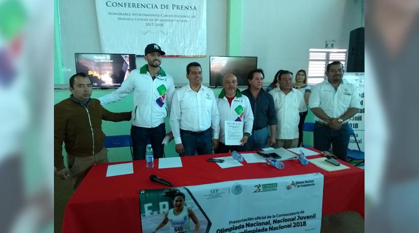 Huajuapan, sede regional de  las Olimpiadas Nacionales 2018 | El Imparcial de Oaxaca