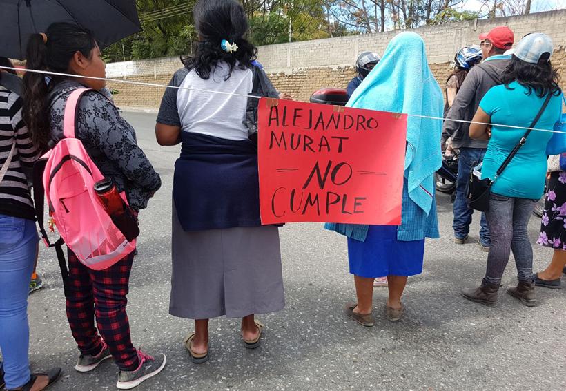 Organizaciones ahorcan la ciudad de Oaxaca | El Imparcial de Oaxaca