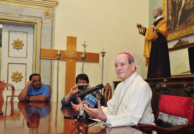 Pide arzobispo diálogo en los Servicios de Salud de Oaxaca | El Imparcial de Oaxaca