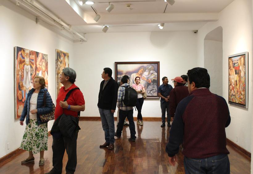 Filemón Santiago, cuatro décadas  resumidas en una exposición | El Imparcial de Oaxaca