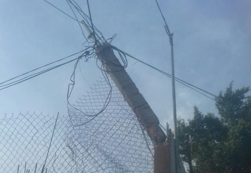 Fuertes vientos provocan apagones en Salina Cruz, Oaxaca | El Imparcial de Oaxaca