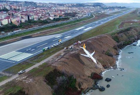Avioneta se sale de la pista y casi cae al mar en Turquía   El Imparcial de Oaxaca