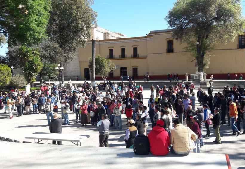 La Asamblea de los Pueblos de  Oaxaca en apoyo a Tlaxiaco | El Imparcial de Oaxaca