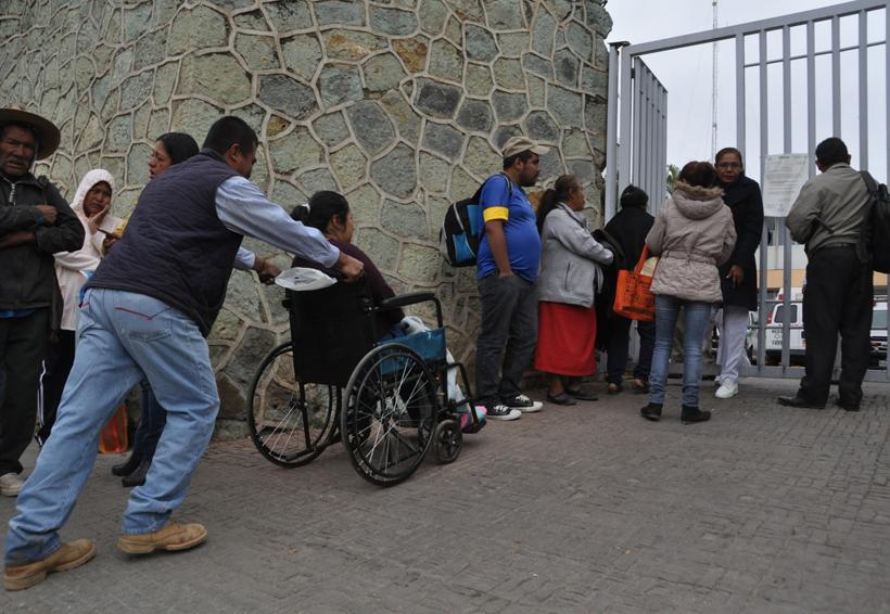 Sigue Hospital Civil de Oaxaca sin consulta externa | El Imparcial de Oaxaca