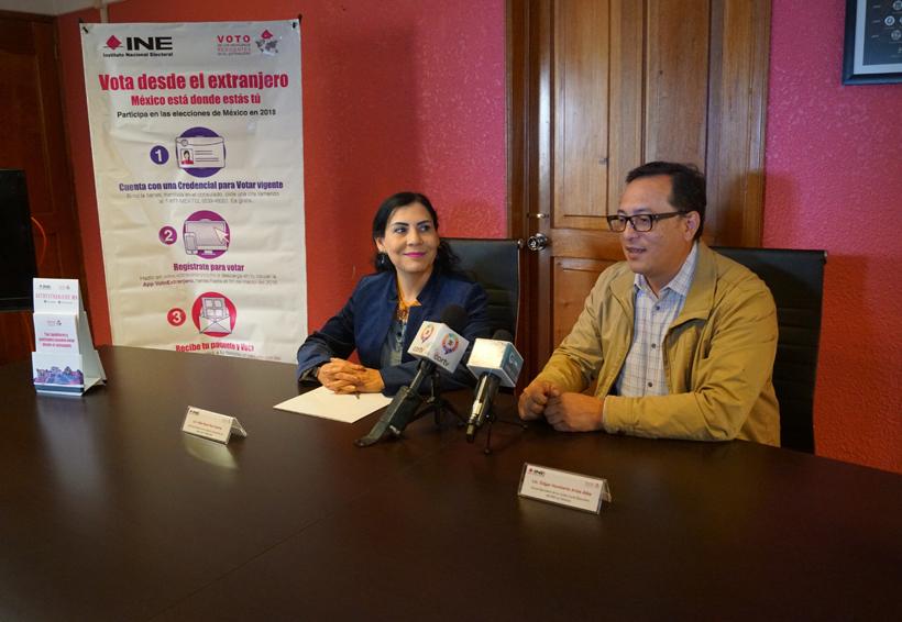 Oaxaqueños activan 7 mil credenciales para votar en el extranjero | El Imparcial de Oaxaca