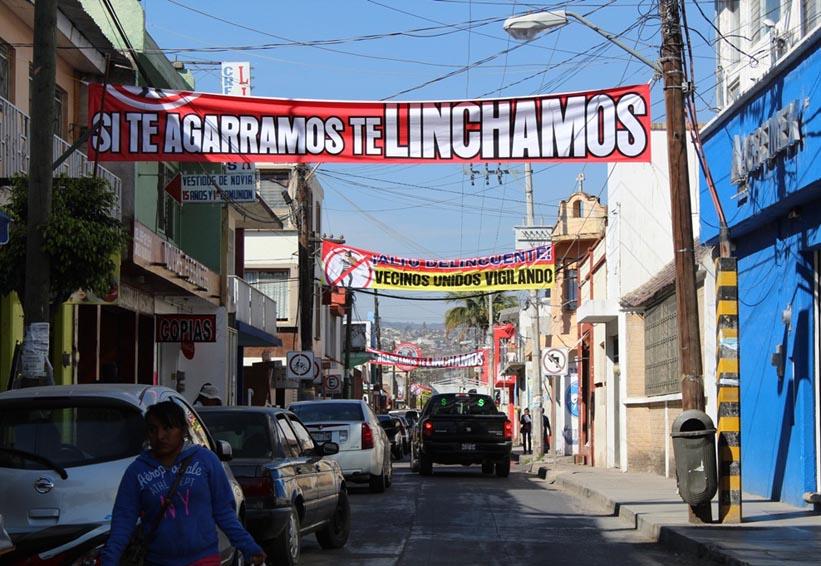 Vecinos de Huajuapan de León están hartos de la delincuencia | El Imparcial de Oaxaca
