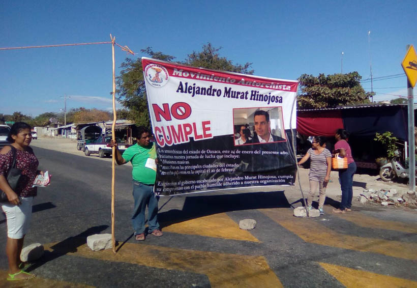 Bloquea antorcha campesina en Salina Cruz, Oaxaca   El Imparcial de Oaxaca