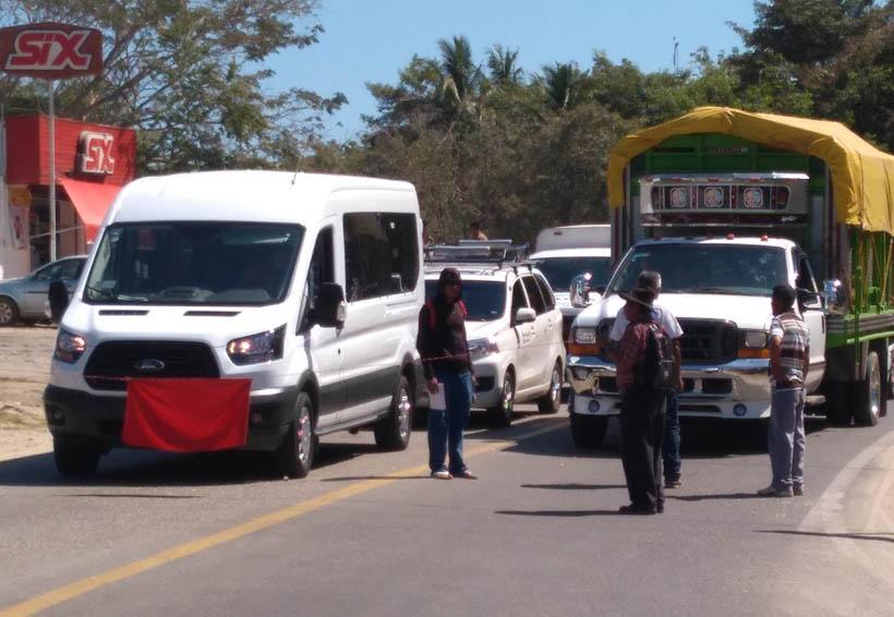Se manifiestan antorchistas, impiden acceso a Pochutla, Oaxaca | El Imparcial de Oaxaca