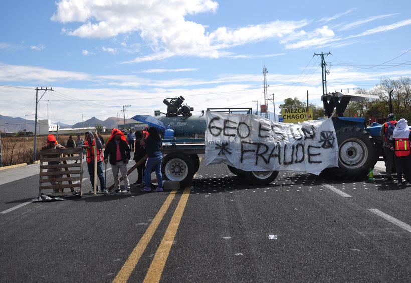 Protestan colonos de Dainzú por aulas y servicios | El Imparcial de Oaxaca