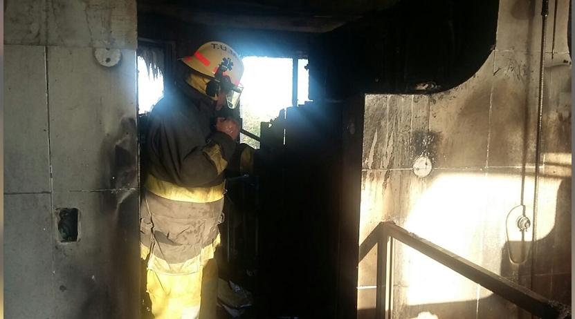 Se incendia residencia en Huatulco | El Imparcial de Oaxaca