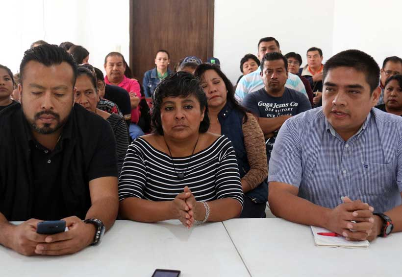En Oaxaca, exigen delegados nueva elección en sindicato de burócratas | El Imparcial de Oaxaca