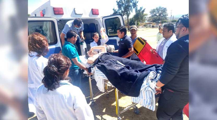 Traslada ambulancia aérea a mujer embarazada de Santo Domingo Tonalá, Oaxaca | El Imparcial de Oaxaca
