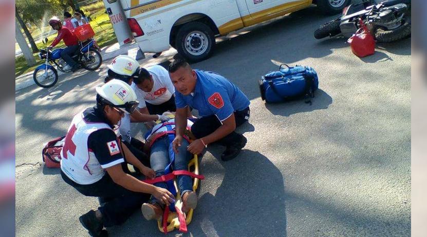 Embiste a motociclista en Huatulco, Oaxaca | El Imparcial de Oaxaca
