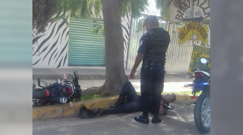 Derrapa en Ejutla policía municipal | El Imparcial de Oaxaca