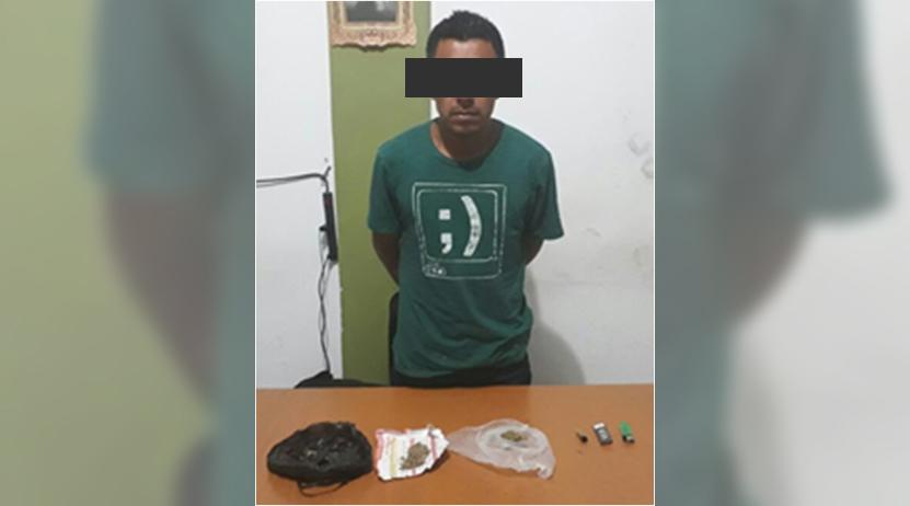 Llevaba droga en céntricas calles de Huajuapan de León, Oaxaca | El Imparcial de Oaxaca