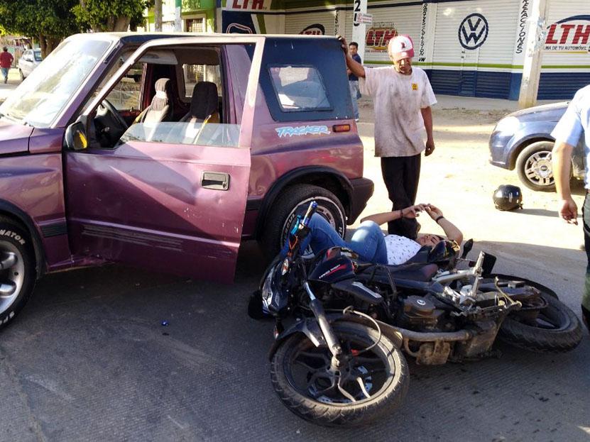 Atropellan a motociclista rumbo al fraccionamiento El Rosario | El Imparcial de Oaxaca
