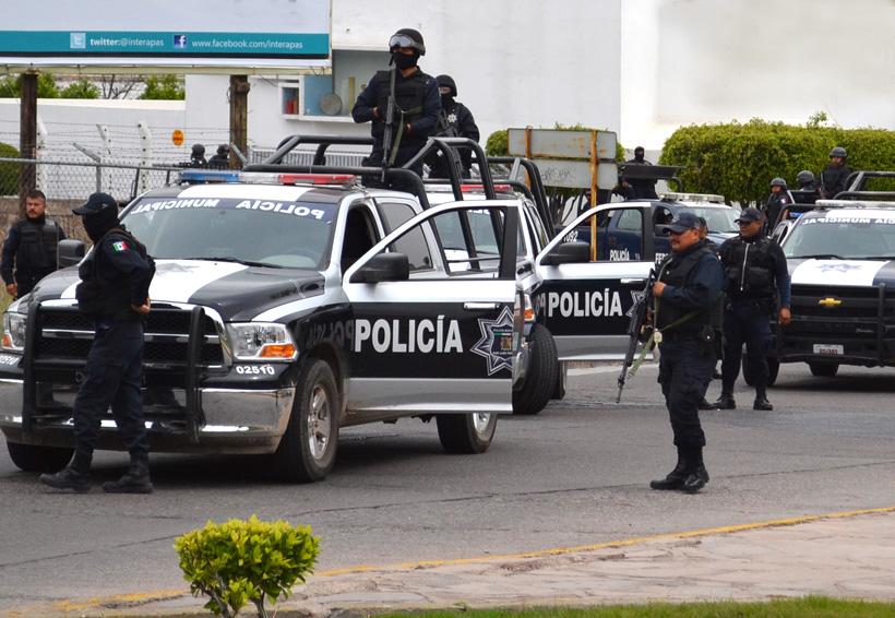 Oaxaca: agentes golpean a alumnos del Creno en operativo disuasivo