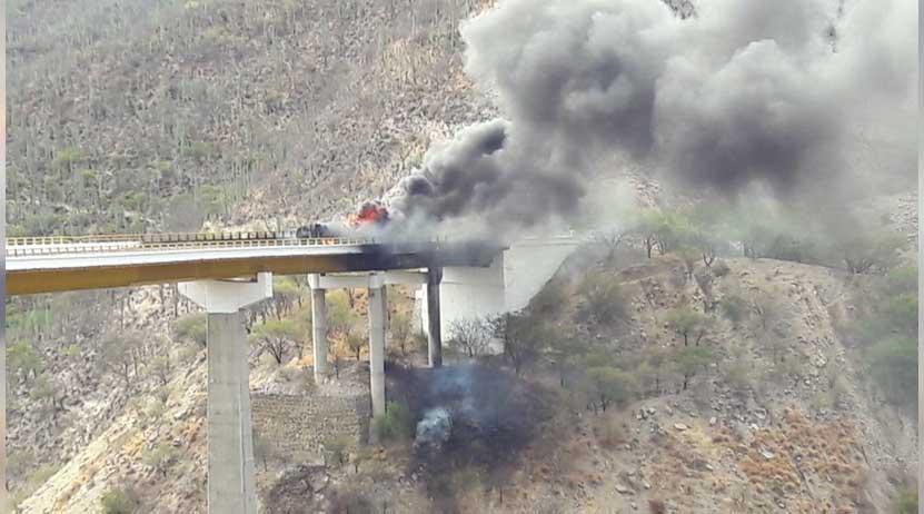 Explota pipa en los límites de Oaxaca y Puebla | El Imparcial de Oaxaca