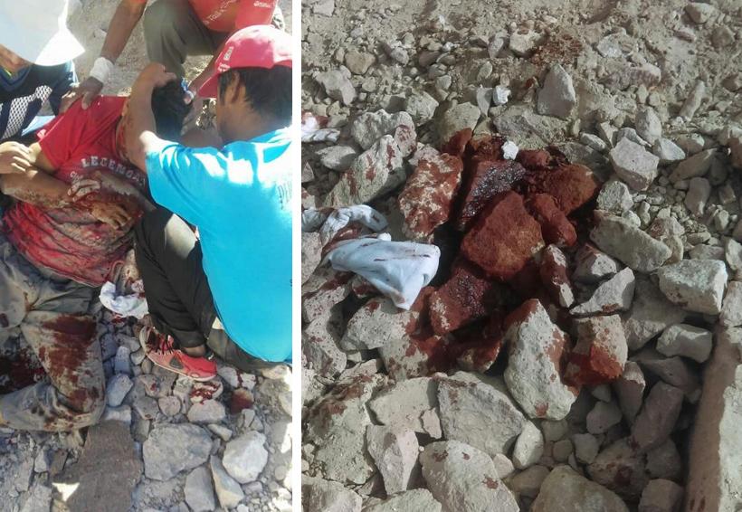 Herido, tras estallar dinamita en Suchilquitongo, Etla   El Imparcial de Oaxaca