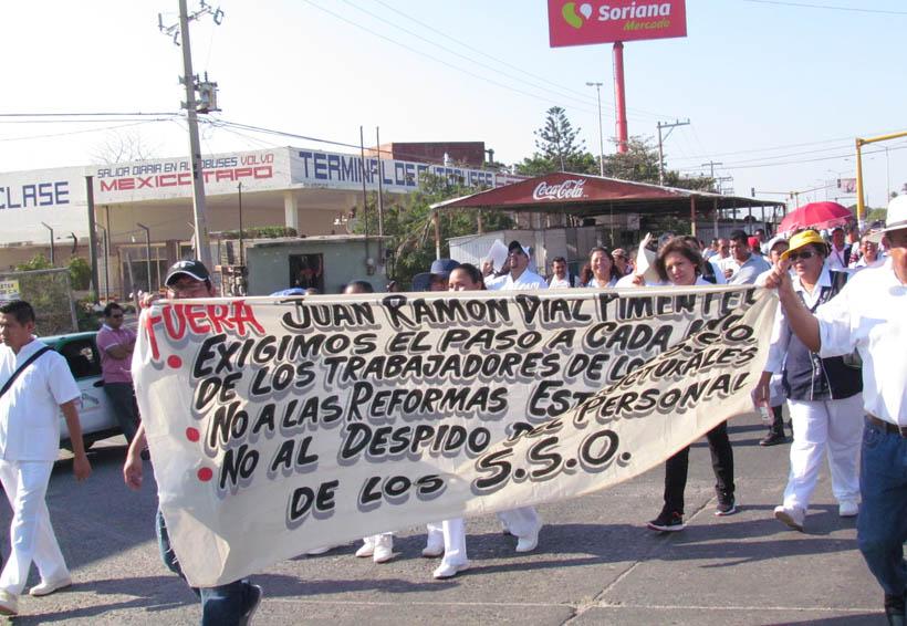 Diálogo, ofrece gobernador a sindicalizados de los Servicios de Salud de Oaxaca | El Imparcial de Oaxaca