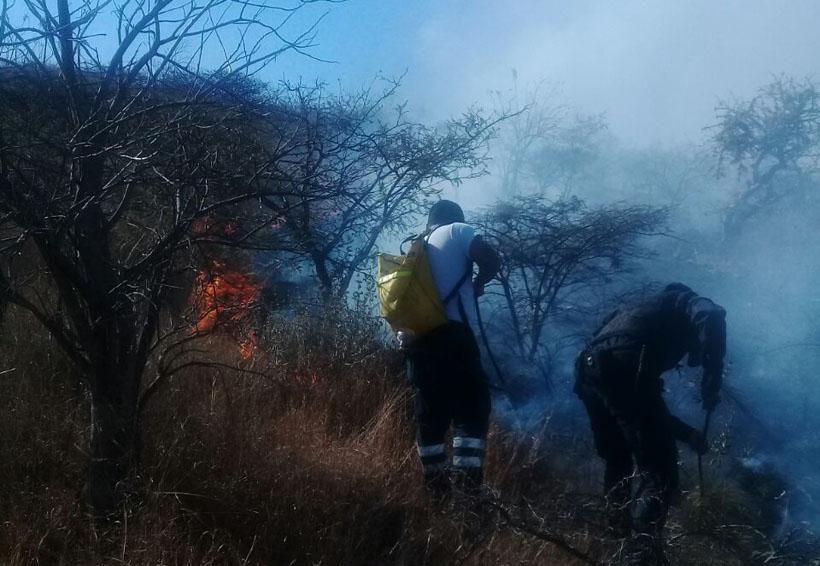 Se quema un cerro en Atzompa | El Imparcial de Oaxaca