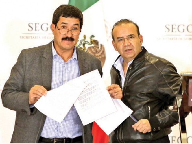 Gobernación y Corral ponen fin a conflicto   El Imparcial de Oaxaca