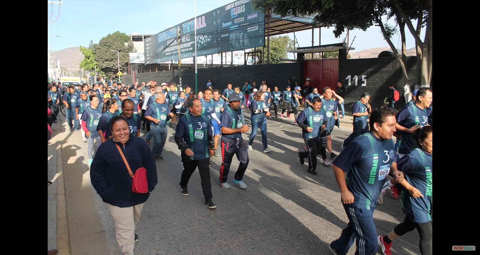Festejan su aniversario de forma deportiva | El Imparcial de Oaxaca