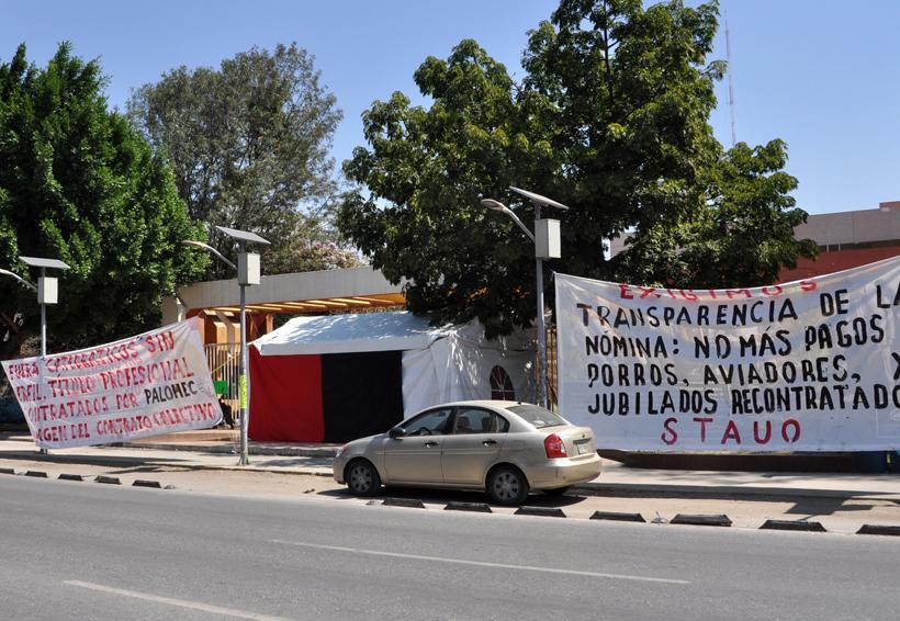 Analiza STAUO levantar huelga   El Imparcial de Oaxaca