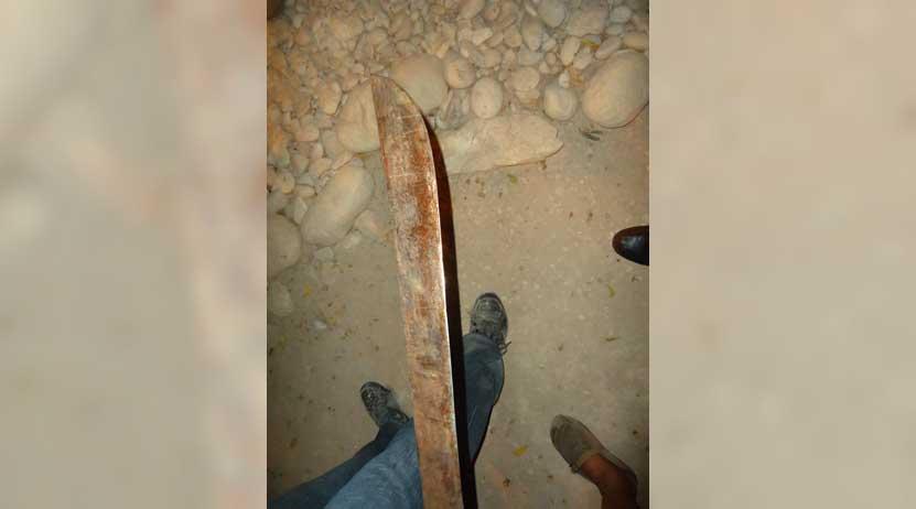 Mata a machetazos a su medio hermano en San Baltazar Loxicha, Oaxaca | El Imparcial de Oaxaca
