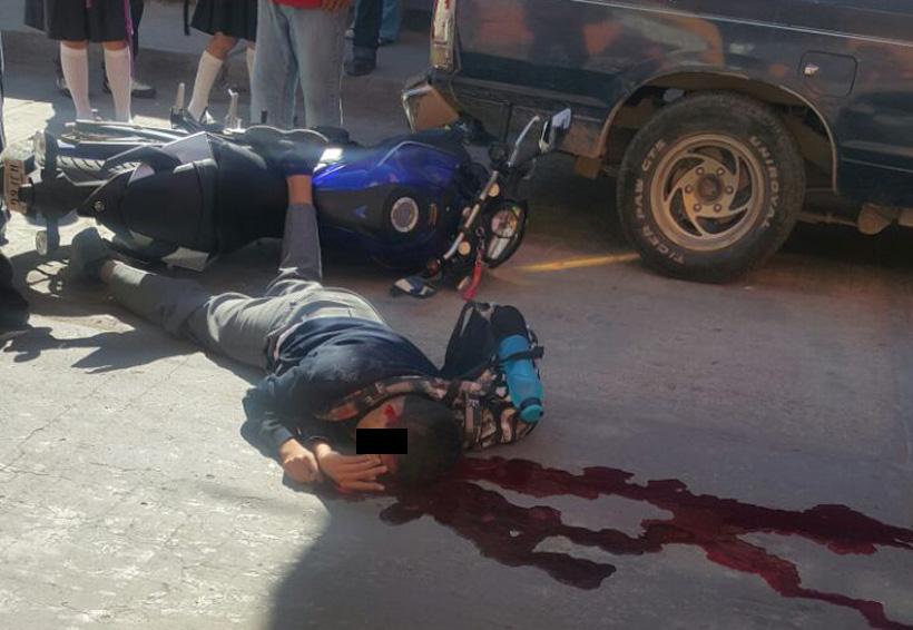 Estudiante en moto choca con camión en Miahuatlán, Oaxaca; muere   El Imparcial de Oaxaca