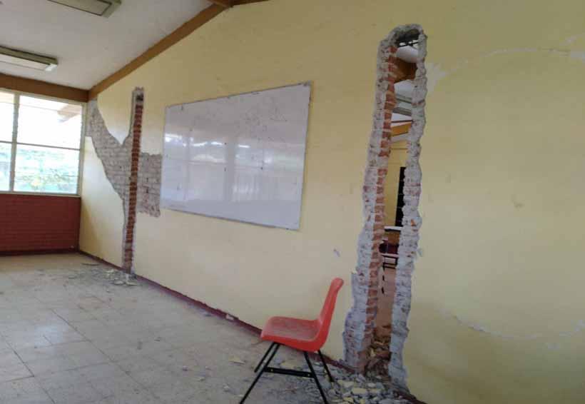 No hay para cuándo se  reconstruyan las escuelas del Istmo de Oaxaca | El Imparcial de Oaxaca