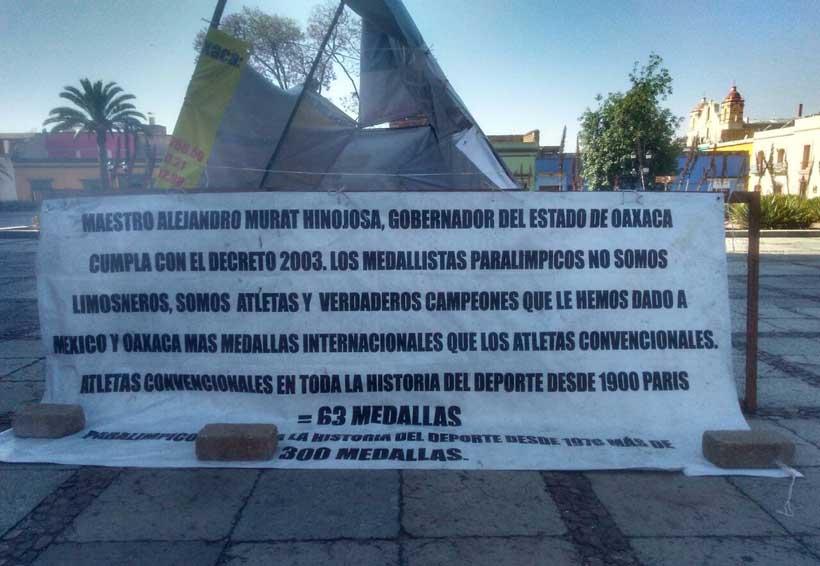 No nos dejan otra  alternativa: dirigente de atletas paralímpicos en Oaxaca | El Imparcial de Oaxaca