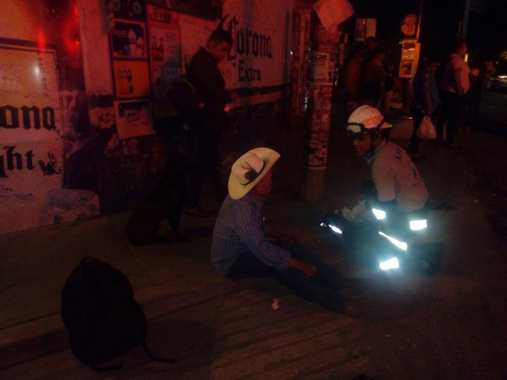 Auto atropella a ebrio en la avenida Símbolos Patrios y escapa | El Imparcial de Oaxaca