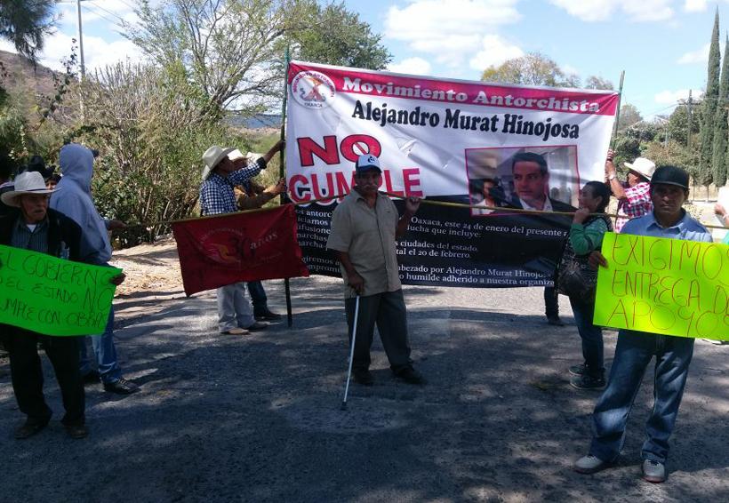 Reclaman obras integrantes  de Antorcha Campesina en la Mixteca de Oaxaca | El Imparcial de Oaxaca