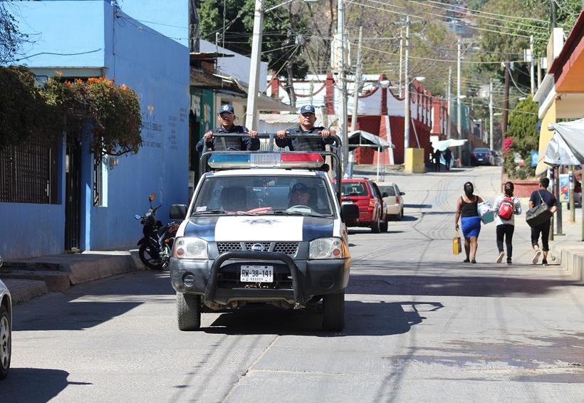 Refuerzan seguridad  Pública en San Juan Chapultepec, Oaxaca   El Imparcial de Oaxaca