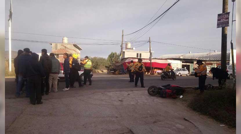 Atropellan a motociclista en Xoxo | El Imparcial de Oaxaca