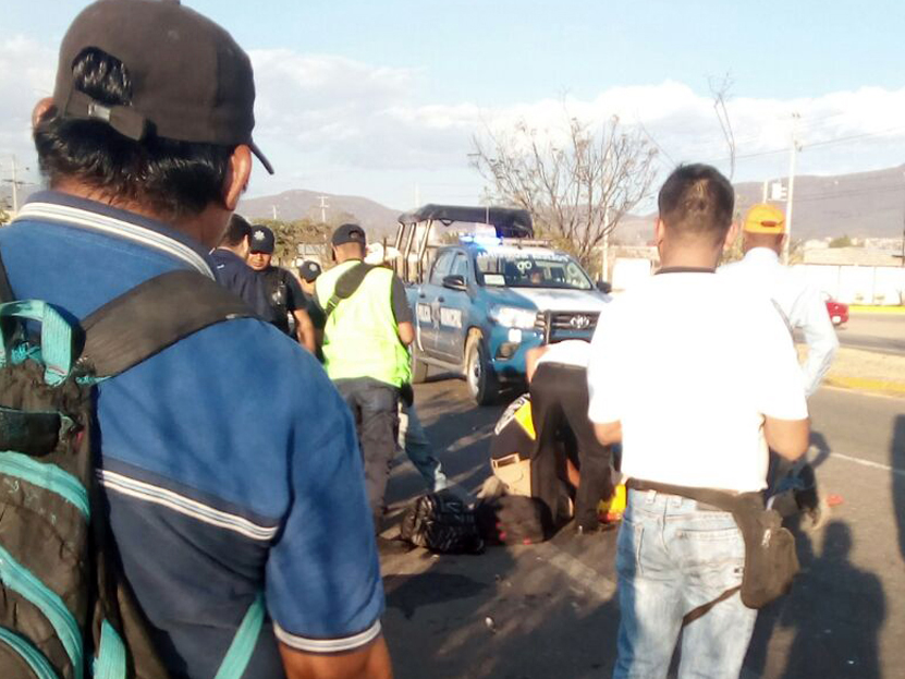 Día accidentado en avenida El Rosario, Oaxaca | El Imparcial de Oaxaca