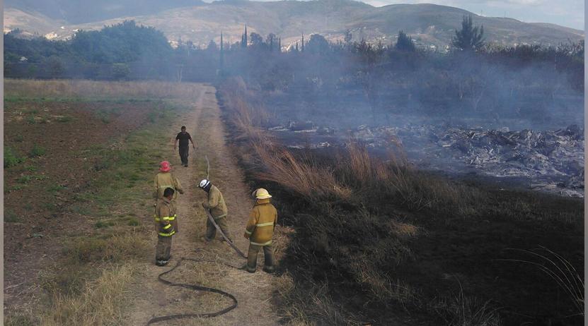 Miércoles de incendios en Oaxaca | El Imparcial de Oaxaca