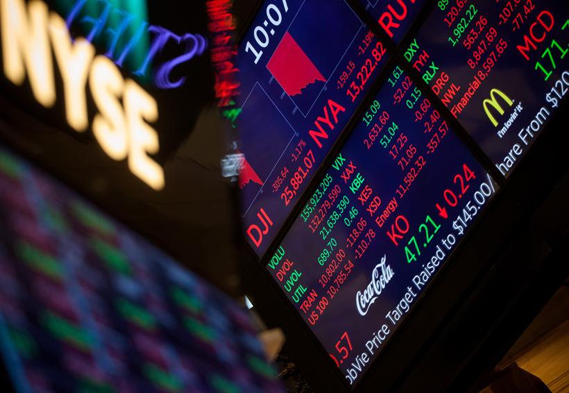 El Dow Jones cierra su peor semana desde enero del 2016 | El Imparcial de Oaxaca