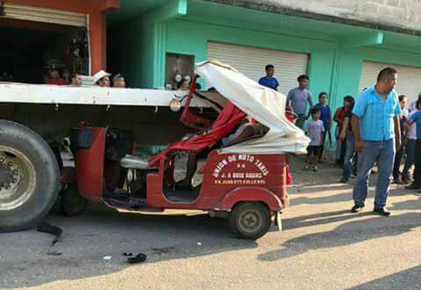 Muere a bordo de un mototaxi en Valle Nacional, Oaxaca   El Imparcial de Oaxaca